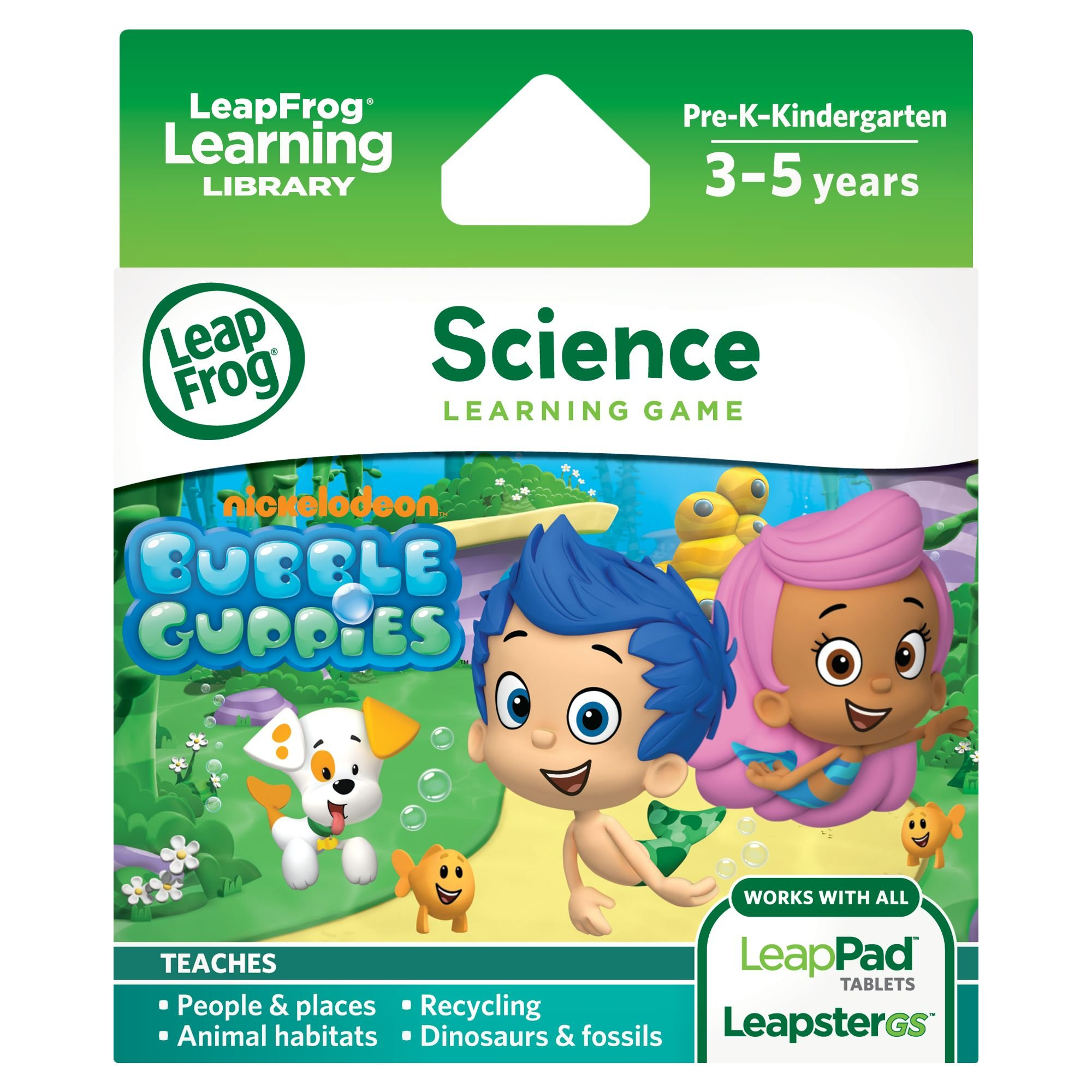 LeapFrog Learning Game: Bubble Guppies (for LeapPad Platinum, LeapPad Ultra, LeapPad1, LeapPad2, LeapPad3, Leapster Explorer, LeapsterGS Explorer) by LeapFrog (Image #1)