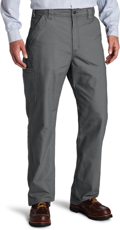 Amazon Com Carhartt Mens Canvas Work Dungaree B151 Fatigue 48w X 32l Casual Pants Clothing