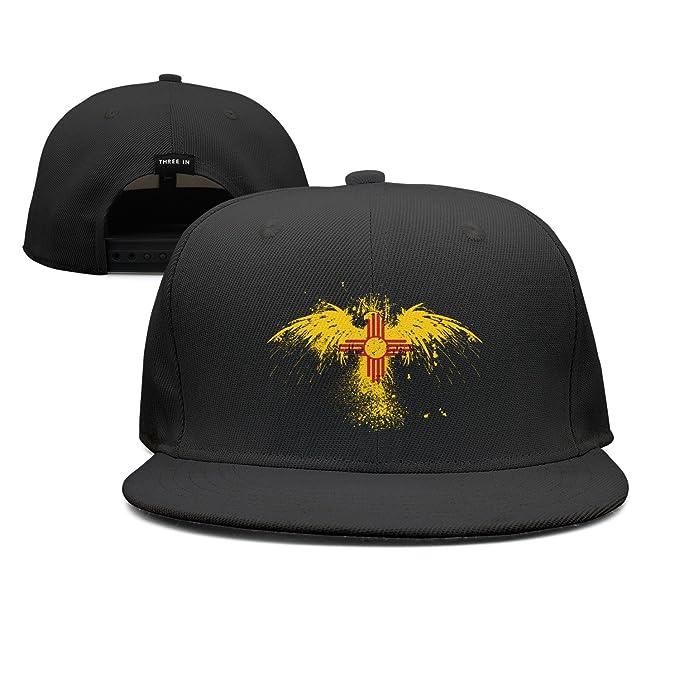 Trum Namii Unisex Fitted Cap Zia Pueblo Symbol with Bird Baseball Cap for  Men ae84bc5e098