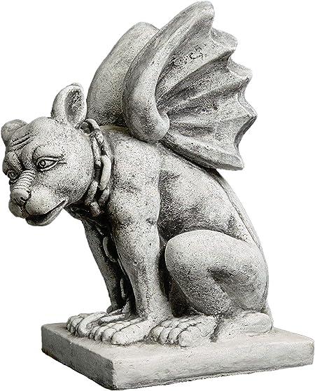Massive Steinfigur Sondermodell Gargoyle Torwächter Wächter Steinguss frostfest