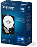 Western Digital WDBH2D5000ENC-ERSN Desktop Mainstream interne-Festplatte 500GB (8,9 cm (3,5 Zoll), 7200rpm, 32MB Cache, SATA) blau