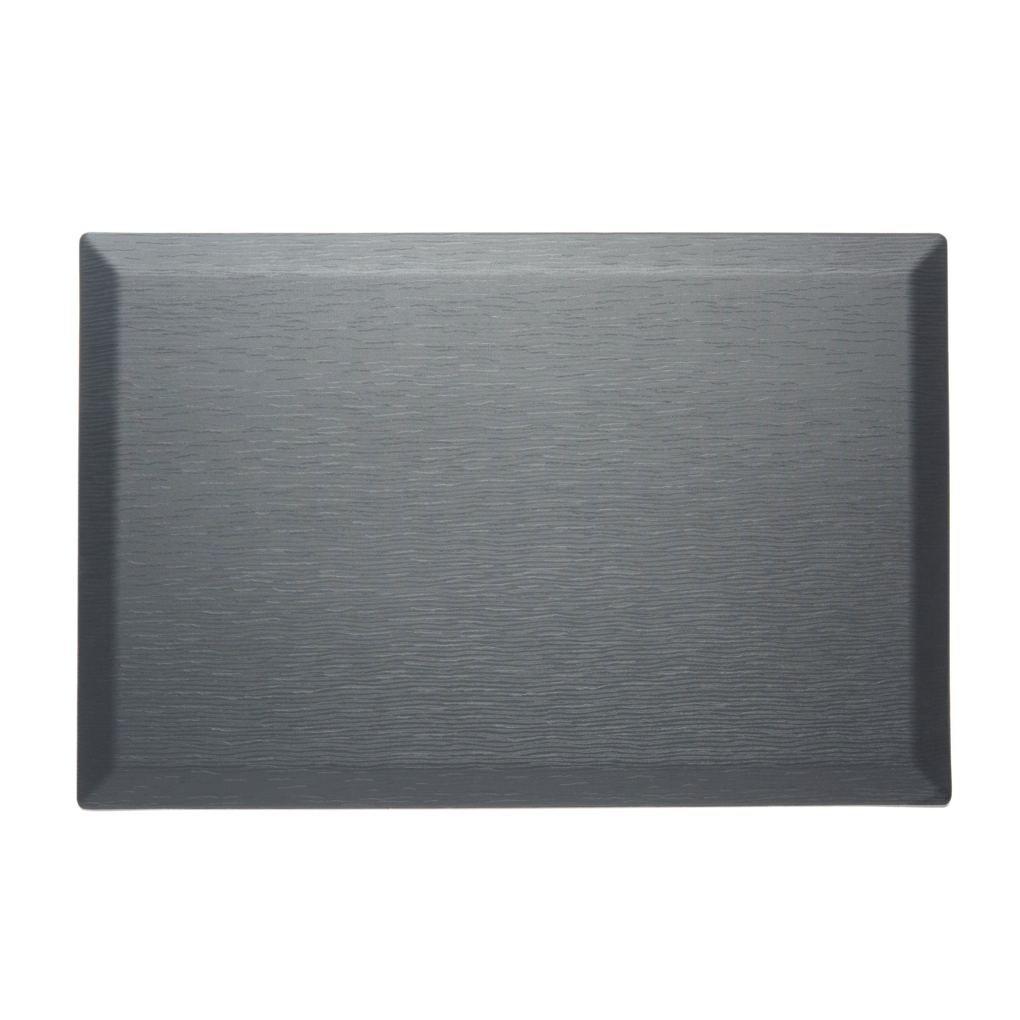 CumulusPRO Commercial Couture Strata Slate Grey Anti-Fatigue Comfort Mat, Office Mat, Stand Up Desk Mat, Kitchen Mat 24 in. x 36 in. x 3/4 in.