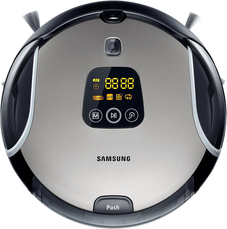 Samsung SR8930 - aspiradoras robotizadas (Plata, Bagless, 0.3L, 320 mm/seg, Auto, Manual, 90%): Amazon.es: Hogar