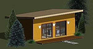 Insulated Tiny House Kit (ADU, Garden House, Guest House, Cabin)