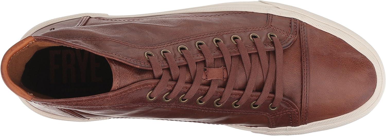 Frye Mens Ludlow Cap Toe High Sneaker