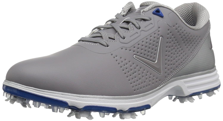Callaway Men's Coronado Golf Shoe B074L94XLN 9.5 D D US|Grey/Blue