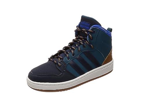 new concept 05718 d6cce adidas Herren Cf Hoops Mid WTR Fitnessschuhe, (PetnocMaruni  blau),