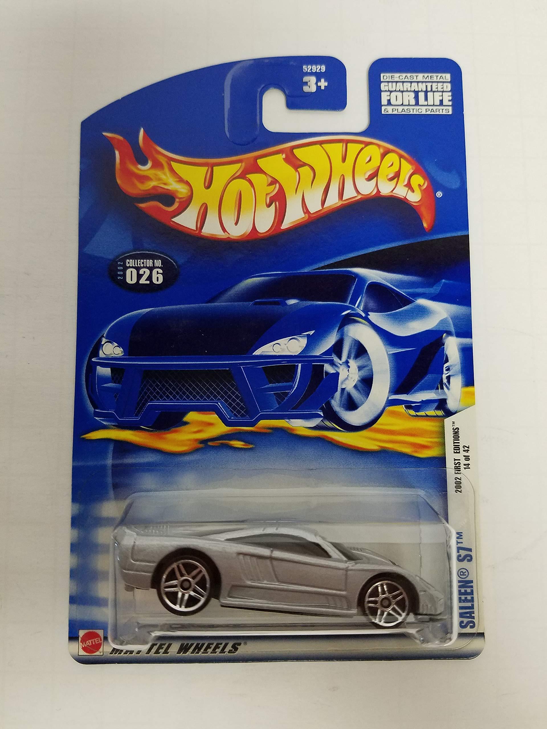 Saleen S7 Hot Wheels 2002 diecast 1/64 scale car No. 026