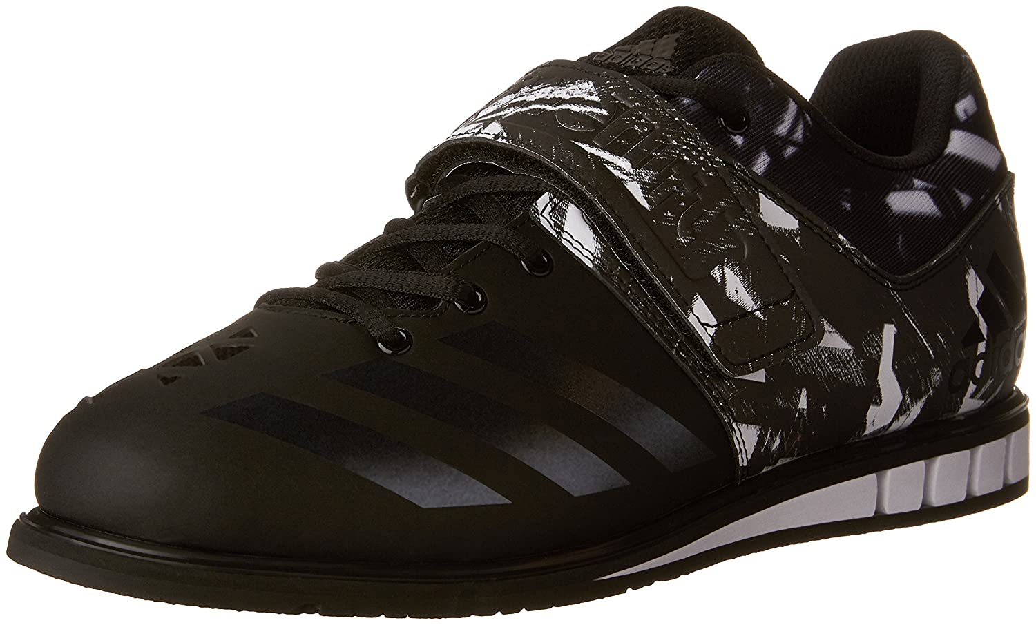 adidas Men's Powerlift.3 Cross-Trainer Shoes B01H1BHFOY 5 M US|Black/Black/White
