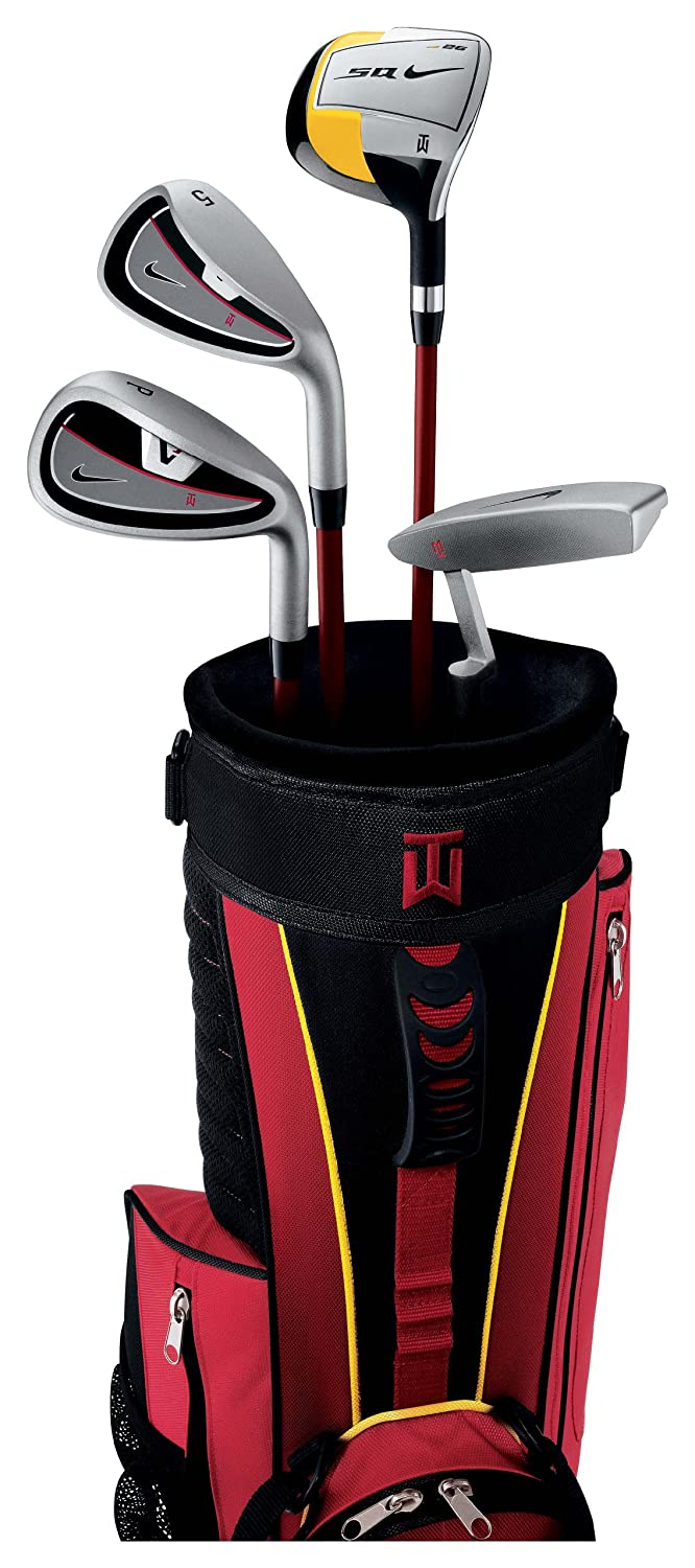 Nike TW Kid s Rojo Caja Golf Set, flexibilidad Uniflex ...