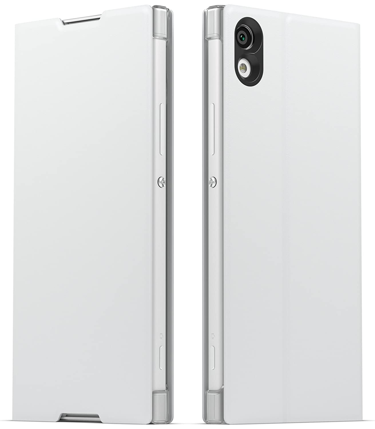 reputable site af4b3 bf2bb Sony Style Cover with Stand for Xperia XA1 - White