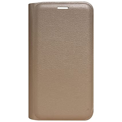 new products 7a21e 4c940 Oppo A71 Flip Cover, Gold Leather Flip Case Cover for Oppo A71
