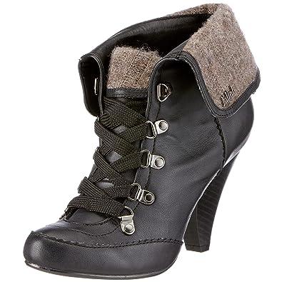 Killah Women's Casia Black Ankle Boot M00529_SW9448_G06000 5