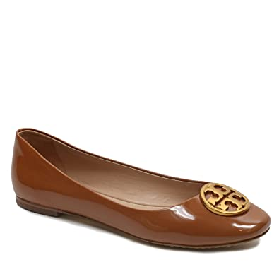 a5e3b2aeecd Tory Burch Chelsea Flat Ballet Shoes Leather (7.5