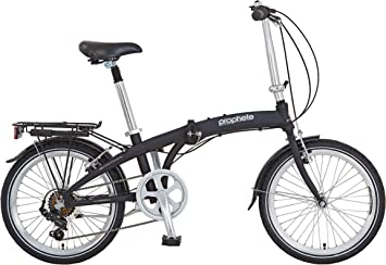 Prophete - Bicicleta Plegable de Aluminio para Adultos, 20