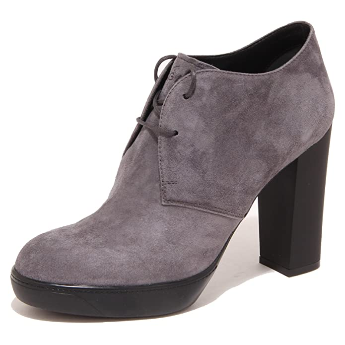 5598O stivaletto HOGAN OPTY grigio tronchetto donna boot woman