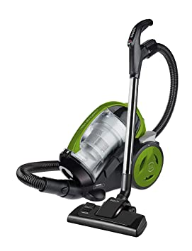 Forzaspira MC330 Turbo - Multi-Cyclonic Bagless Cylinder Vacuum Cleaner 1.8 litre 700 Watt Green 14 day DOA 2 Year Warranty - collect repair and return or ...
