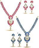 YouBella Jewellery Sets for Women Gold Plated Necklace Jewellery Set with Earrings for Girls/Women