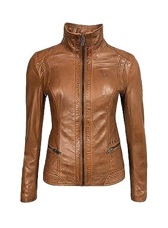 Veste en cuir femme 48