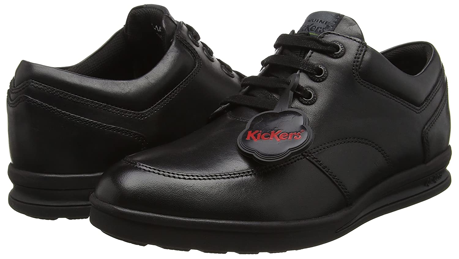 Kickers Boys Troiko Lace-Youth Derbys