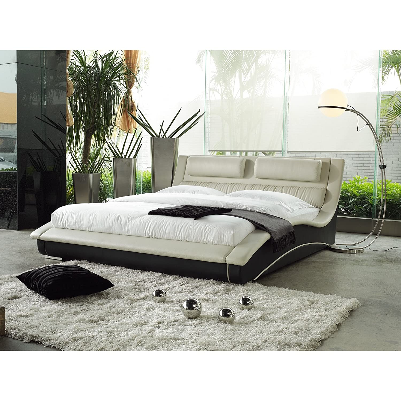 Amazon com matisse napoli modern platform bed black kitchen dining