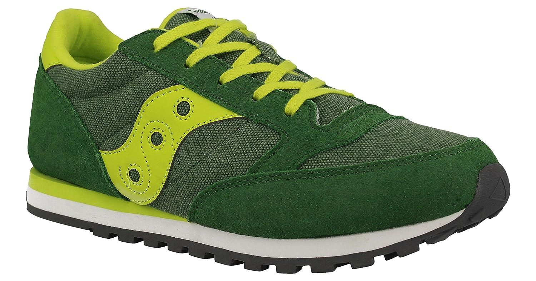 SAUCONY SY55552 JAZZ verde amarillo los zapatos verdes chico chico trampa:  Amazon.es: Zapatos y complementos