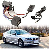 Draadloze Bluetooth handsfree adapter, auto AUX draadloze muziekontvanger voor BMW E46