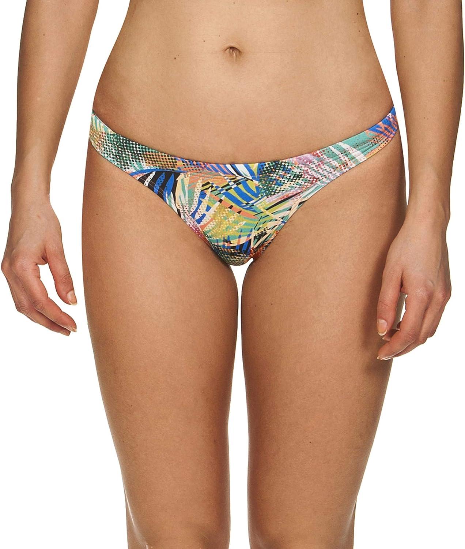 Arena Men's Floral Allover Tie Back MaxLife Bikini Bottom