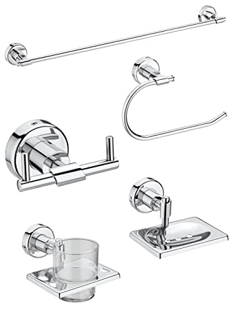Regis Bathroom Set/Bath Set Stainless Steel - Eva Series - EV-BS Bathroom Accessories & Organization at amazon