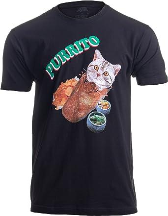 «Purrito» (Burrito de Gato) - Diseño Divertido de Humor Mexicano - para