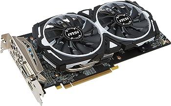 MSI Radeon RX 580 DirectX 12 8GB 256-Bit Video Card + AMD 2 Games