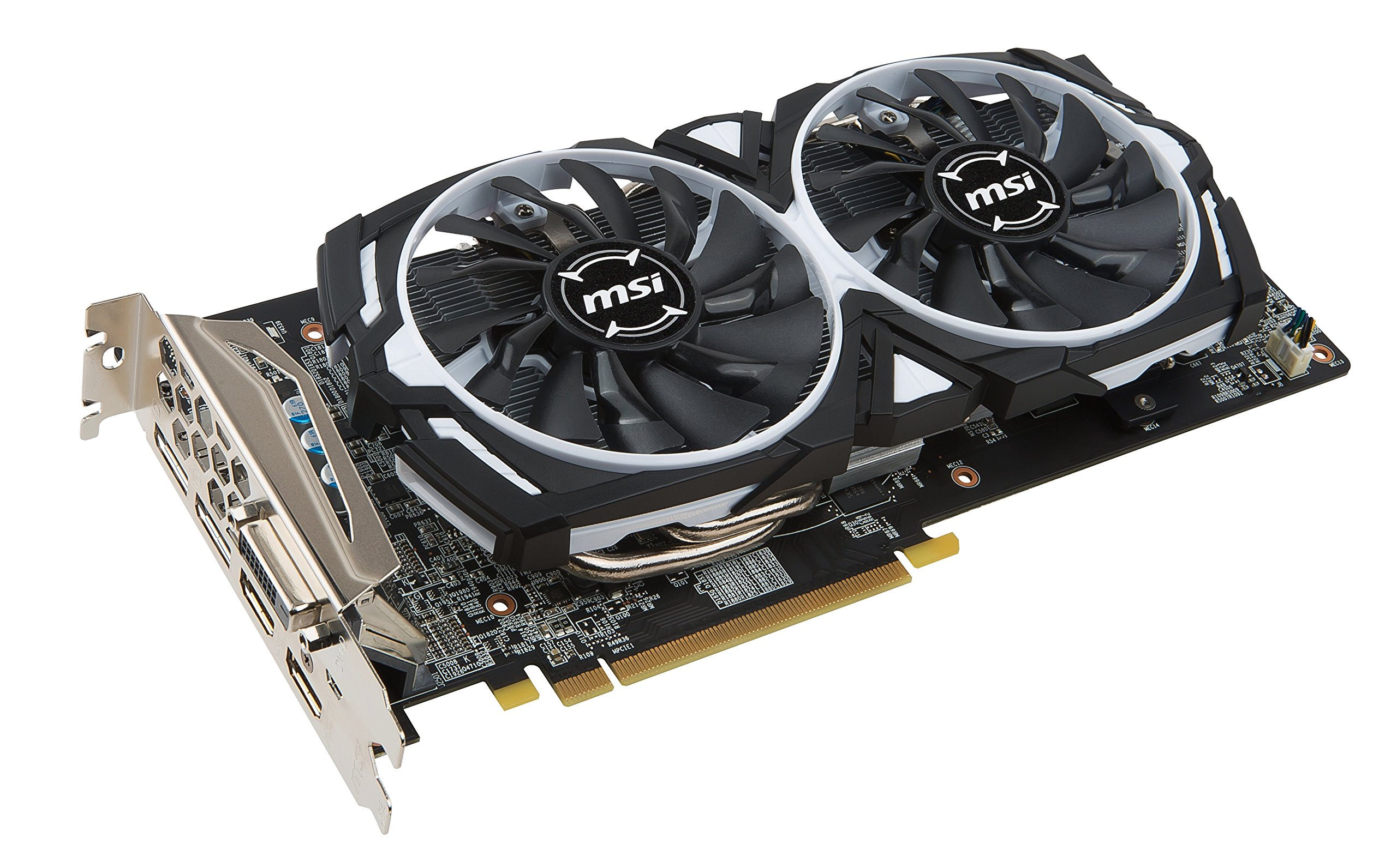 MSI VGA Graphic Cards RX 580 Armor 8G OC by MSI (Image #2)