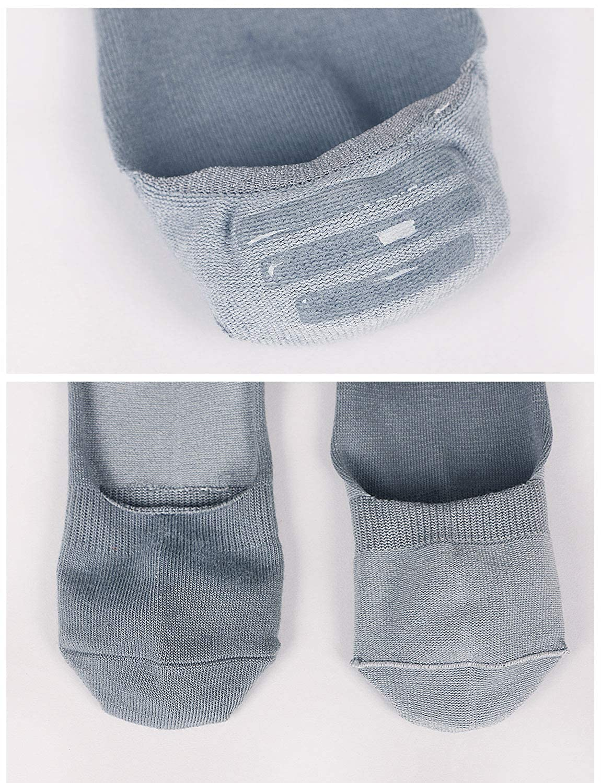 Mogao Caves Calzini no show da uomo calze di cotone invisibili calze corte per mocassini Calze da uomo calze con maniche antiscivolo