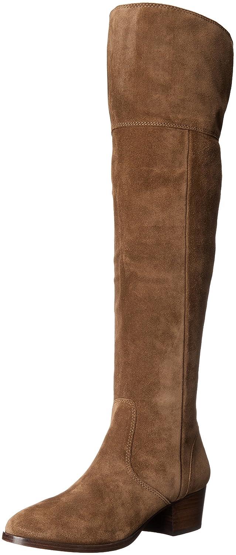 FRYE Women's Clara OTK Suede Slouch Boot B018YLXPBW 8 B(M) US|Cashew