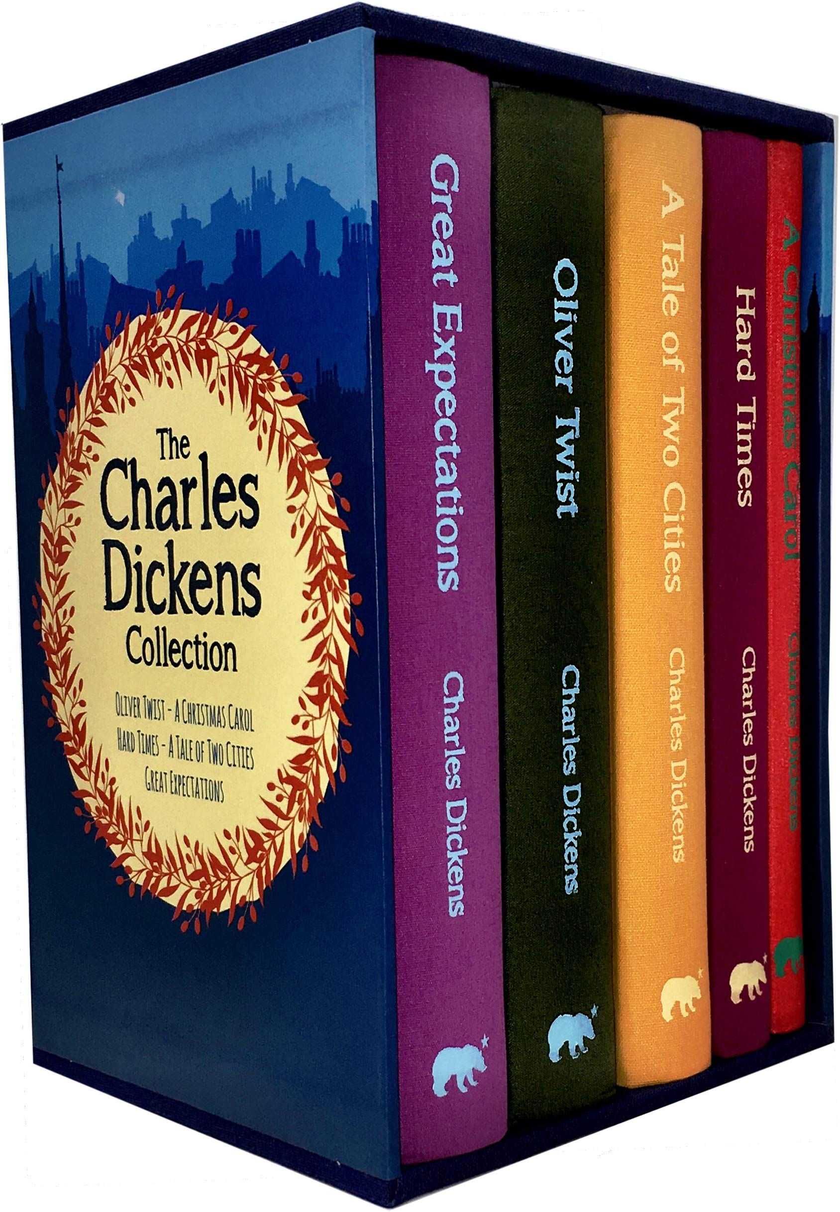 2020 Christmas Cd Twin Cities Collection Charles Dickens 5 Books Collection Box Set (Oliver Twist, A