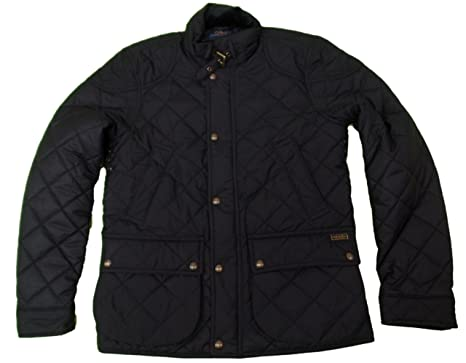 Polo Ralph Lauren Women\u0027s Diamond Pattern Quilted Winter Jacket (M, Polo  Black)