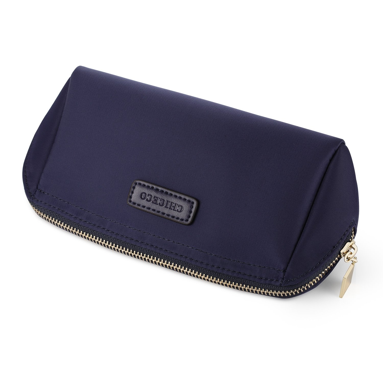 CHICECO Handy Cosmetic Pouch Clutch Makeup Bag - Navy Blue by CHICECO (Image #7)