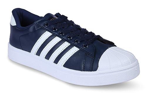 Blue \u0026 White Closed Toe Shoes