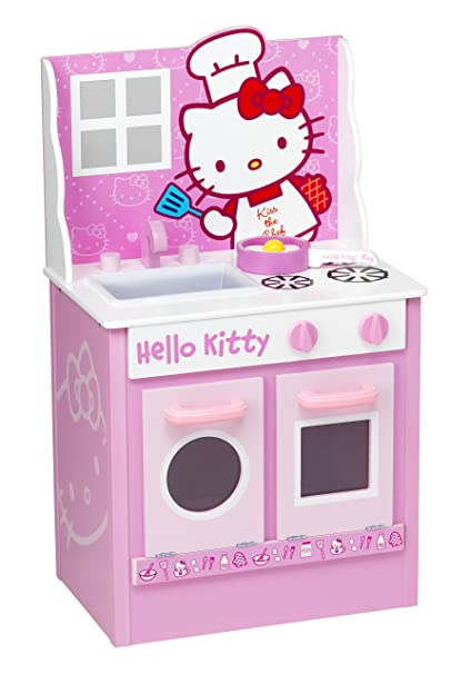 Amazon Com Hello Kitty Classic Kitchen Toys Games