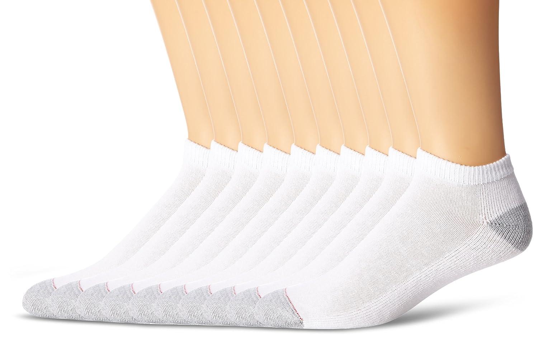 Hanes Men's 10-Pack Ultimate FreshIQ Low-Cut Socks (Shoe Size 6-12) Hanes Men' s Socks 88/10