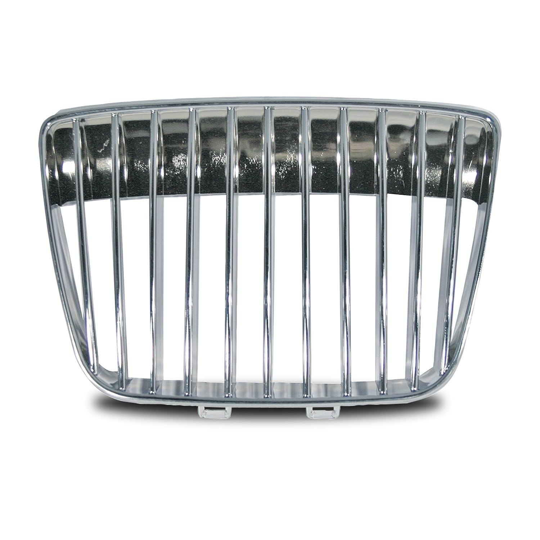 JOM 6K1853653KOE Calandra, Seat Ibiza/Cordoba, 99-02, sin emblema, completamente de cromo: Amazon.es: Coche y moto