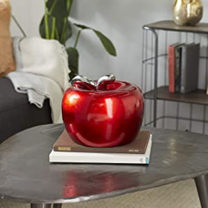 Deco 79 59712 Magnificent Ceramic Apple, 11