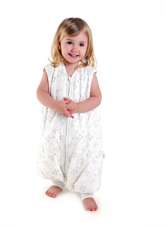 Slumbersac Standard Sleeping Bag with Feet 2.5 Tog Teal Stars 18-24 months//90cm