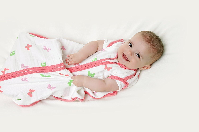 /12/ /Schmetterling/ Schlummersack Baby Sommerschlafsack Musselin f/ür Baby circa0.5/Tog/ /36/Monate//110/cm