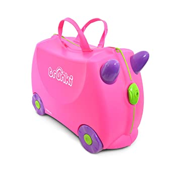 19a2baf4b Amazon.com: Trunki Original Kids Ride-On Suitcase and Carry-On ...
