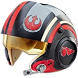 STAR WARS - Black Series  - Poe Dameron X Wing Pilot Helmet with sound effects - The Last Jedi - Kids Dress Up Toys - Ages 8+