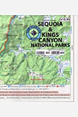 Sequoia & Kings Canyon National Parks (Tom Harrison Maps) Map