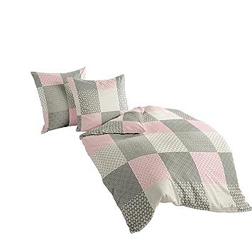 Leinen Bettwäsche Set Komfortgröße 155 x 220  Kissenbezug 40 x 80 oder 80 x 80