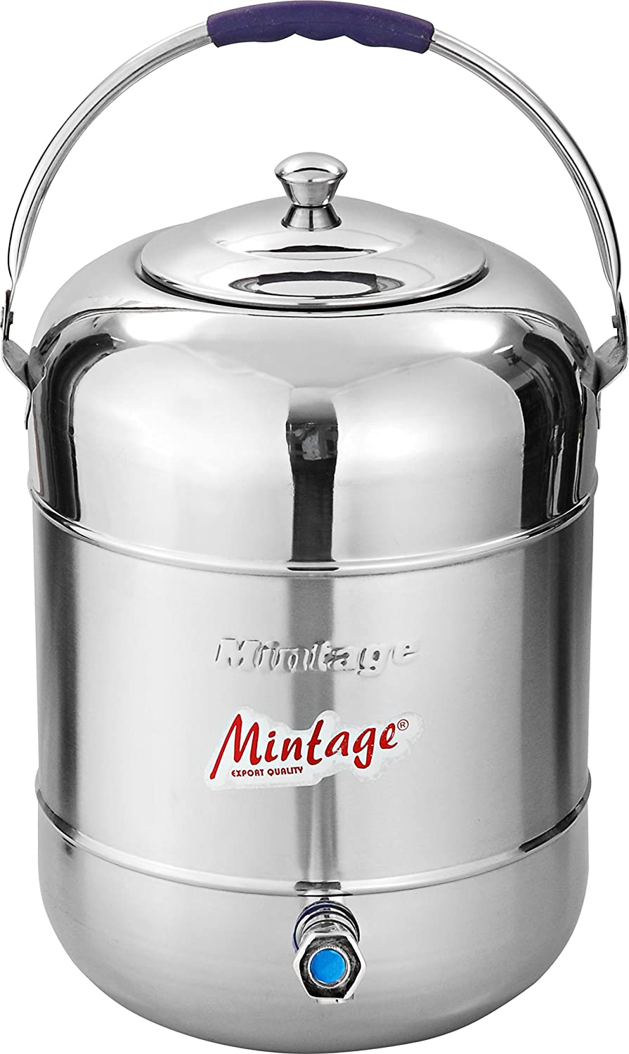 Buy Mintage Stainless Steel Water Pot 25 L Silver Online at Low