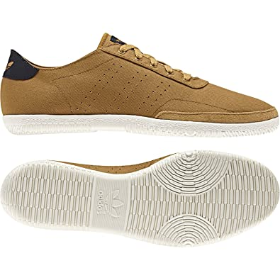 adidas Plimsole 3 Mens Trainers BrownWhite, D65643: Amazon
